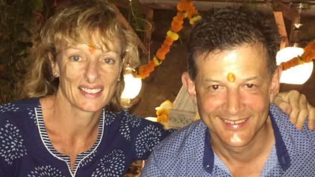 Jackie and Mark Todd, celebrating Diwali.