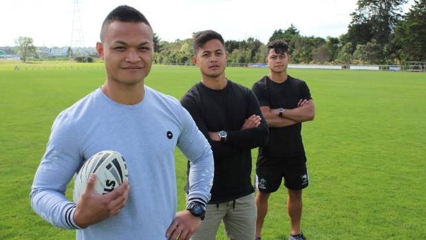 All three Nicodemus brothers are one club men, and play for the Te Atatu Roosters Rugby League Club.