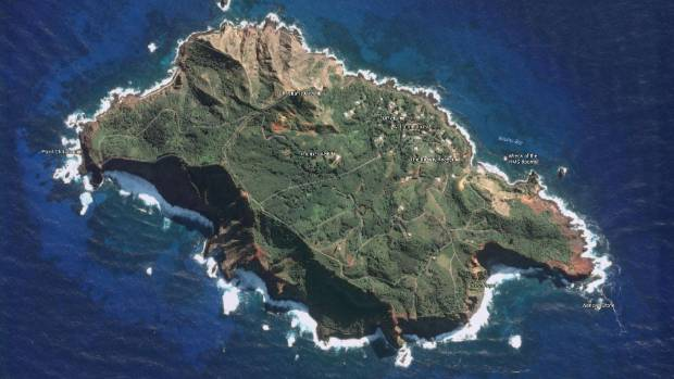 Around 50 permanent residents live on Pitcairn Island.