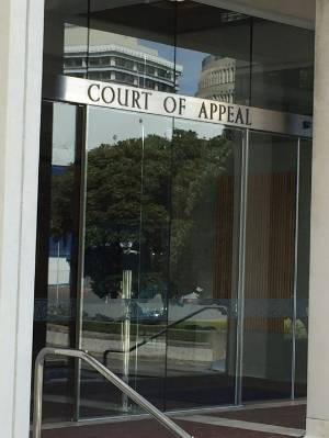 A Court of Appeal hearing will be held on May 4 regarding Rongonui's case.