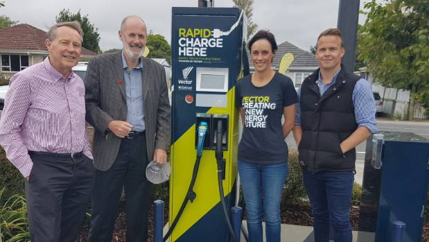 auckland 39 s southernmost public electric vehicle charger opens. Black Bedroom Furniture Sets. Home Design Ideas