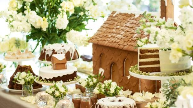 Sandra Kaminski 39 S Gingerbread Inspired Christmas Table