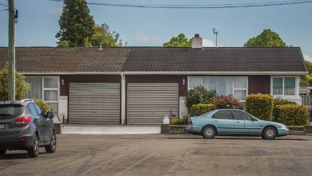 A property at the end of Roker St. One of the council's options is to effectively split the house in two, demolishing ...