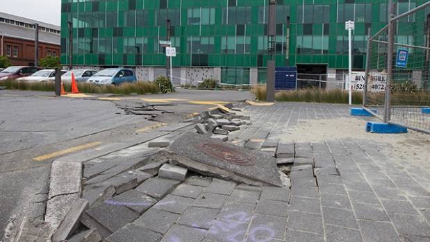 Staff from Statistics House were forced to move to new offices after the November quake caused significant damage to its ...