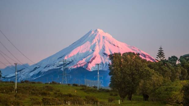 There's an 81 per cent chance that Mt Taranaki will erupt by 2065.
