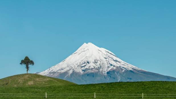 Mt Taranaki often draws comparisons to Japan's Mt Fuji.