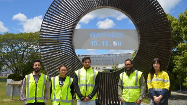 Contact Energy's Maori interns will be spending the next eight weeks with the power company building relationships.