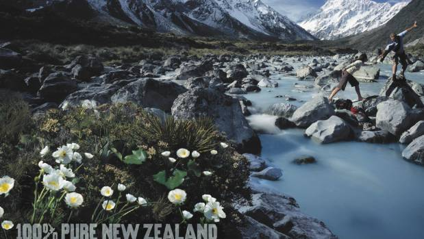 Bottled water companies trade on the Pure New Zealand brand.
