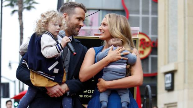 Deadpool star Ryan Reynolds made the unveiling of his star on the Hollywood Walk of Fame last Thursday a family affair.