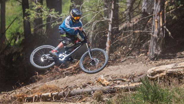 The number of moutainbikers riding at the Christchurch Adventure Park has been higher than expected.