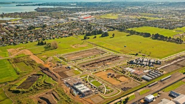 McLennan housing development in Takanini in June