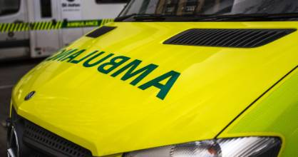 St John Ambulance and the Fire Service were at the scene of the fatal crash (file photo).