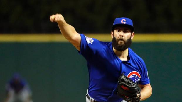 39 not ideal but a bet is a bet 39 chicago cubs star for Jake arrieta tattoo