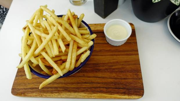 Lunchtime fries just as they should be.