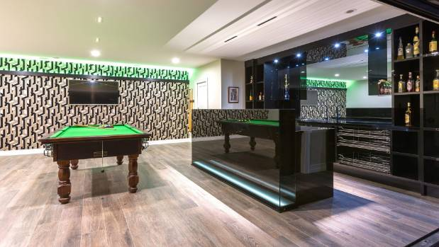 Man Cave Wallpaper : Poolside bar and games room create the ultimate man cave stuff nz
