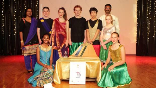 Westport's Bollywood dance group.