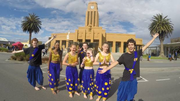 Westport's Bollywood dance group