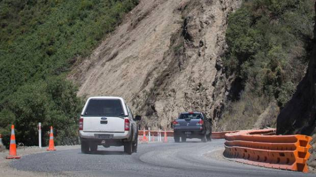 The inland route to Kaikoura had already reopened to general use.