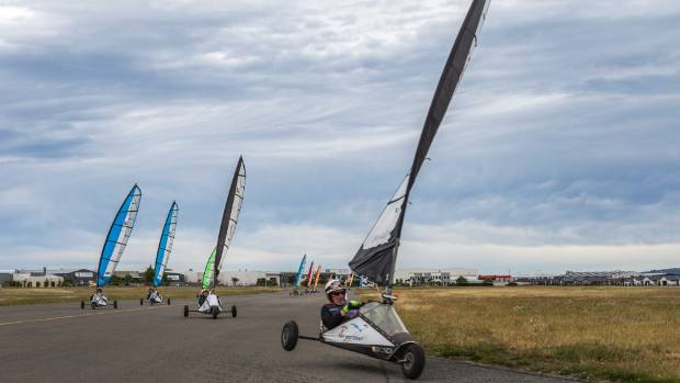 The Christchurch Blokart Club has members of all ages, including an 86-year-old.