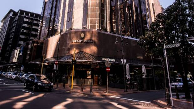 Intercontinental Hotel, in Featherston St, is on the list.