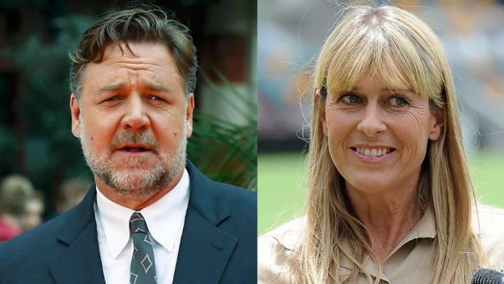 Russell Crowe, Terri Irwin dat...