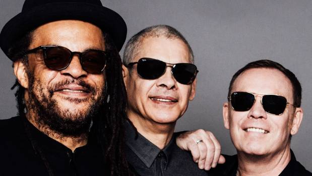 "UB40's ""Astro"" Wilson, left, Mickey Virture and Ali Campbell."