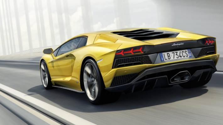 More Power New Tech For 2017 Lamborghini Aventador S Stuff
