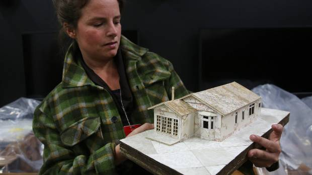 Juliet Arnott, who was the co-director of the Whole House Reuse exhibition, where a red zoned house was recycled into ...