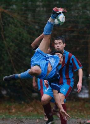 Nelson College First XI captain LaBu Pan scored an outrageous bicycle kick goal during the Jill Heath Memorial Cup ...