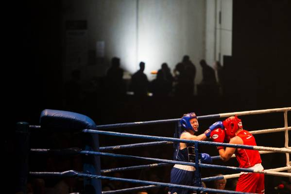 Simon Mardon wins his fight during Fight 4 Victory at the Trafalgar Centre.