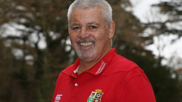 Warren Gatland guided the Lions to a series victory in Australia in 2013.