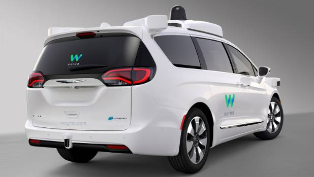 Google and Chrysler launch Waymo Pacifica driverless vehicle