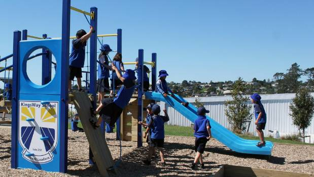 Thousands of children were injured in school playgrounds this year, most as a result of losing their balance or personal ...