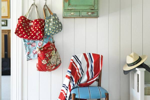 "All the bags by the door in the Owen's Kerikeri home are Vanessa's: ""I always grab the one that my wallet isn't in."""