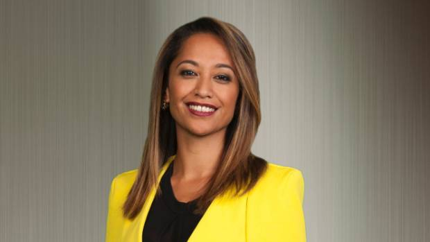 "Native Affairs presenter Oriini Kaipara. A DNA test revealed she was ""100 per cent Maori""."