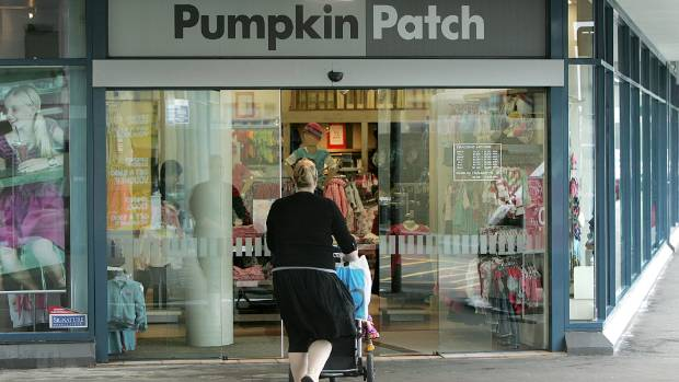 Pumpkin Patch receivers closed seven New Zealand stores at the end of last year.