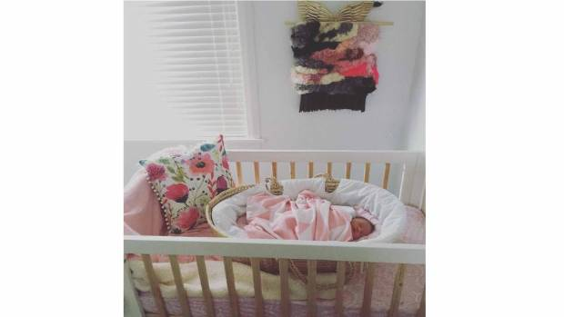 Colourful touches feature in Havana's nursery.