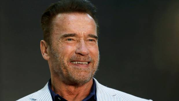 Arnold Schwarzenegger says he 'throws up' when looking in mirror