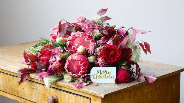 Take your Christmas day decor inspiration from florals this year.