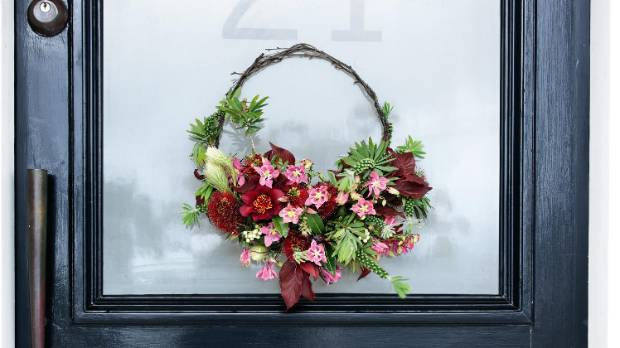 Make your guests smile from the moment they walk through the door with a beautiful floral wreath.