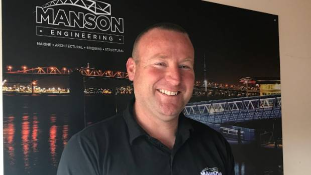 Manson Marine and Engineering Ltd general manager Jamie Logan says if everyone were to adopt a shorter working week, it ...