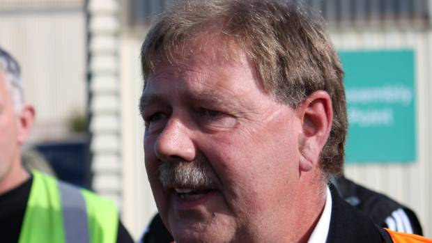 """Rail and Maritime Transport Union general secretary Wayne Butson says workers' terms and conditions are being """"wrenched ..."""