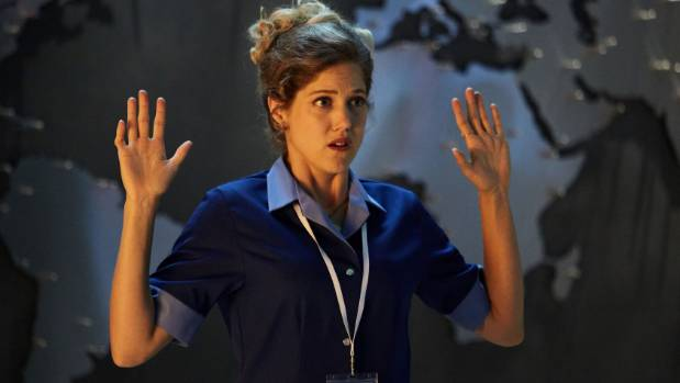 British actress Charity Wakefield plays journalist Lucy Fletcher in this year's Doctor Who Christmas Special