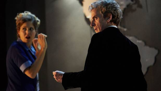 The Doctor is battling brain-swapping aliens in the upcoming Doctor Who Christmas Special.