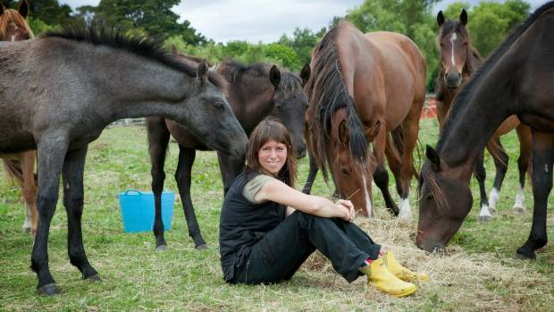 Sam Hart is a HUHA volunteer, looking after the charitable trust's Horse Team.