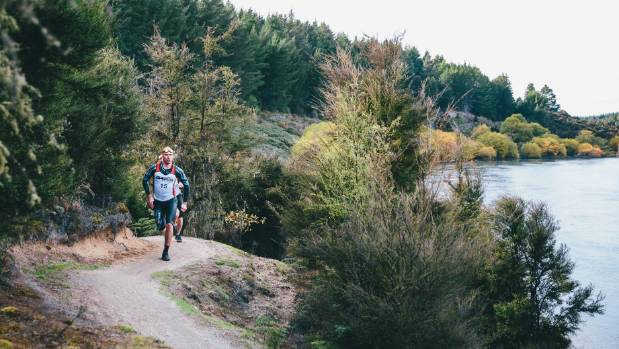 BrecaWanaka SwimRun race organiser Ben de Rivaz has included the Outlet Track in the course.
