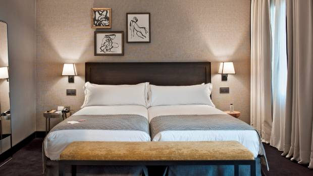 Expect a stylish, spacious room.