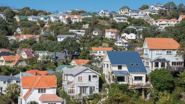 Wellington has the country's highest percentage of homes built more than 75 years ago. (File photo)