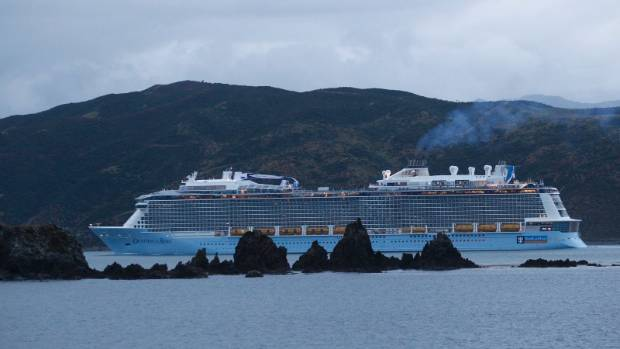 Biggest Cruise Ship Ever To Sail In New Zealand Waters Hits Wellington Harbo