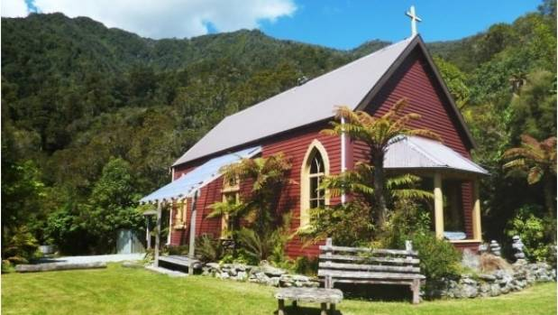 Quirky rentals a catholic church turned fishing lodge for Fishing lodge for sale